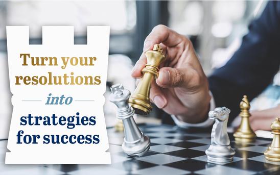 Resolutions into strategies